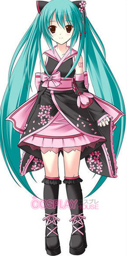 hatsune miku wallpaper probably with a lampshade called Cute Miku