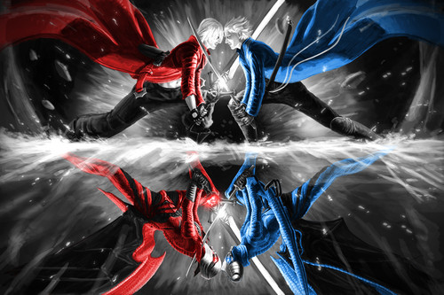 DMC3 Dante Vs. Vergil