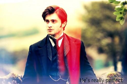 Daniel Radcliffe in The Woman in black .