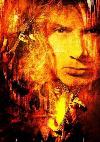 Dave Mustaine Art