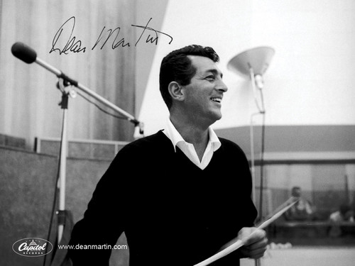 Dean Martin fond d'écran probably with a le batteur, batteur and a tympanist titled Dean Martin