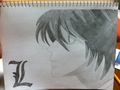 Death Note: L - l fan art