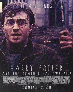 Deathly Hallows Part 2 Poster Remake
