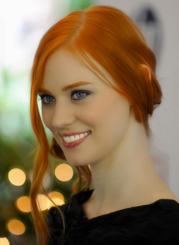 True Blood karatasi la kupamba ukuta with a portrait called Deborah Ann Woll-2