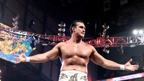 Del Rio vs Ziggler on Raw