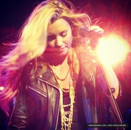 Demi - Summer Tour - Filene Center wolf Trap Vienna, VA - June 24, 2012