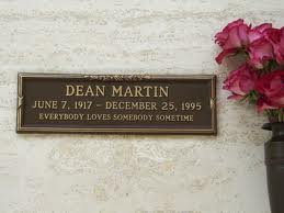Dean Martin wallpaper called Dino's grave