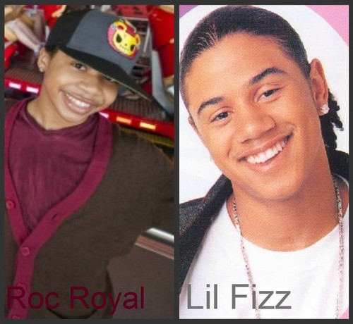 Does Roc Royal and Lil Fizz Look alike?