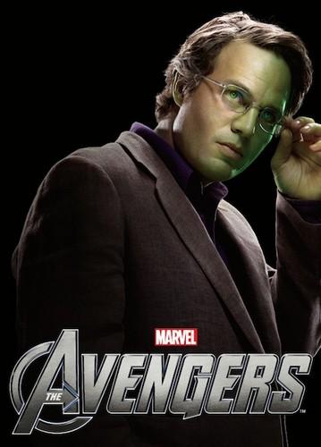"""Dr. Bruce Banner """"The Avengers"""" 2012 Promo/Poster"""