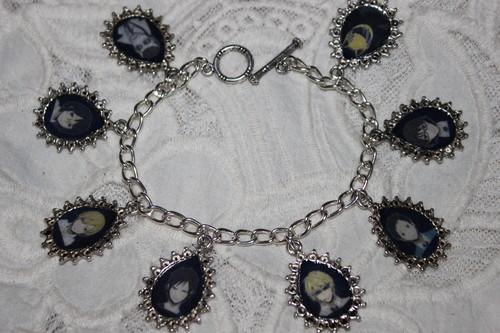 Durarara charm bracelet