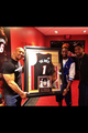 Dwayne Johnson with Dwayne Wade and Lebron James - dwayne-the-rock-johnson photo
