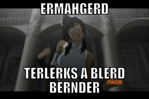 Avatar: The Legend of Korra wallpaper with anime called ERMAGERD