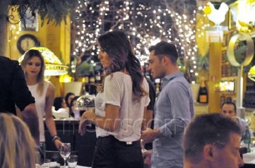 Ed at dîner with Philippr Plein in Milan