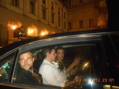 Ed in Milan