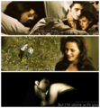 Edward and Bella - New Moon - edward-cullen fan art