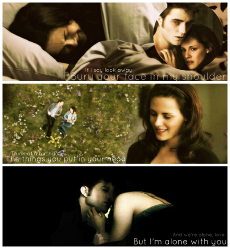Edward and Bella - New Moon
