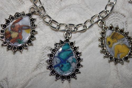 Eevee Evolutions charm bracelet