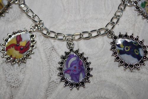 Eevee Evolutions Clan hình nền entitled Eevee Evolution charm bracelet