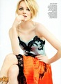 Emma Stone par Mario Testino for Vogue US July 2012