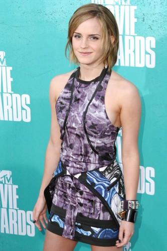 Emma at the एमटीवी Movie Awards