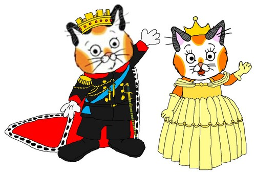 Emperor Huckle and Empress Sally