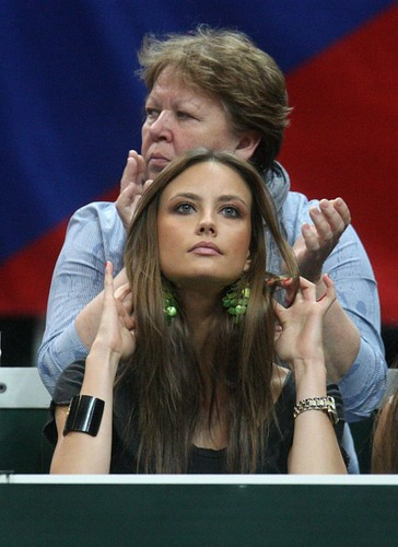 Ester Satorova : She is famous thanks Berdych !!