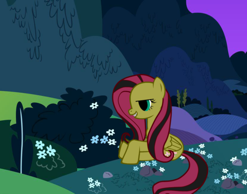 My Little Pony Friendship Is Magic Coloring Pages Fluttershy : My little pony friendship is magic images evil dark fluttershy hd