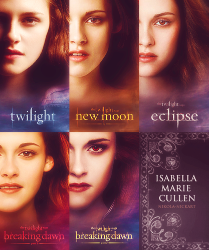 Evolution of Isabella Marie Cullen