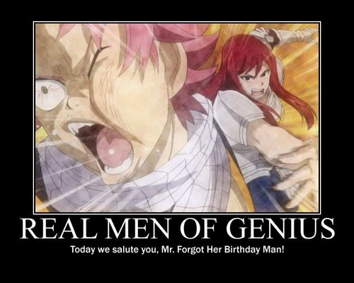 Fairy Tail Demootivational Posters