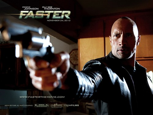 "Dwayne ""The Rock"" Johnson wallpaper called Faster"