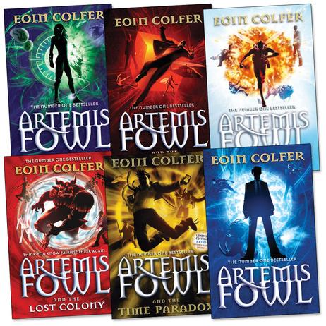 Anj S Angels Images Favorite Book Series Artemis Fowl Wallpaper