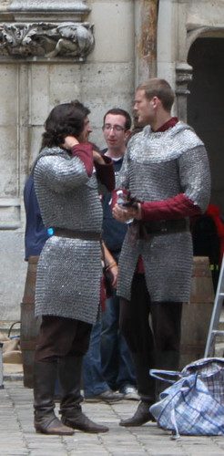 Filming in Pierrefonds - merlin-on-bbc Photo