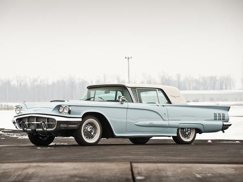 Ford Thunderbird Hartop coupe, cupé 1960.