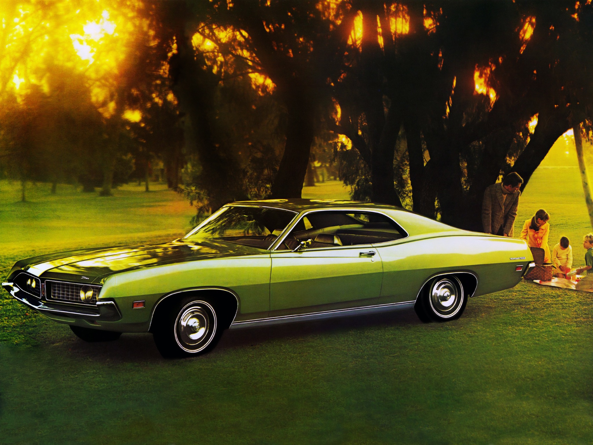 Classic Cars Images Ford Torino Hd Wallpaper And Background