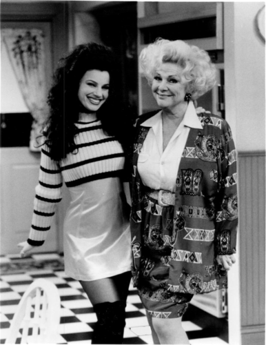 The Nanny wallpaper entitled Fran & Sylvia