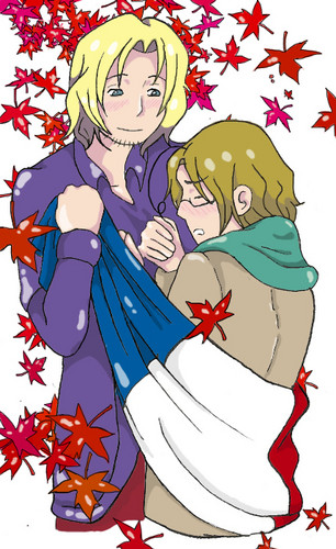 Franada - hetalia-couples Fan Art