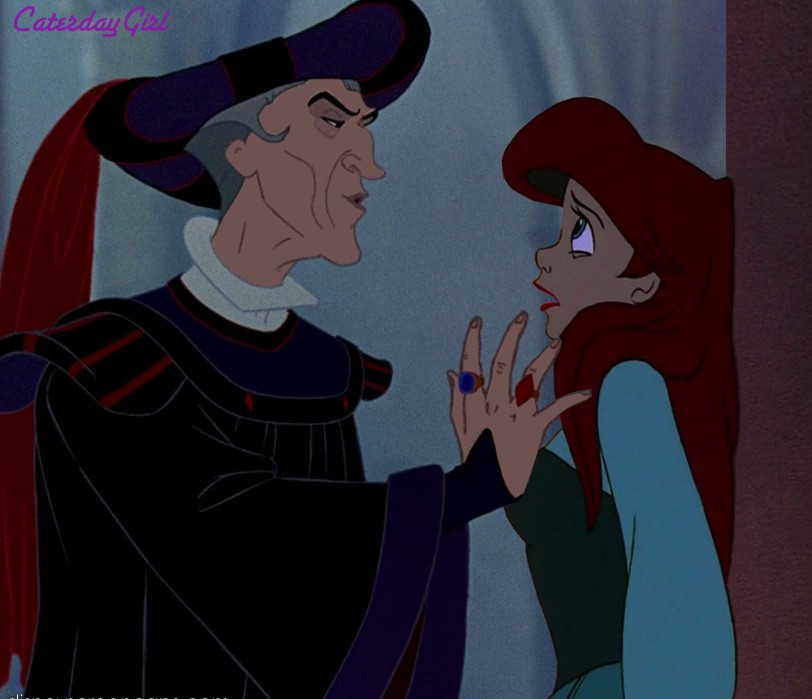Frollo Seduces Ariel