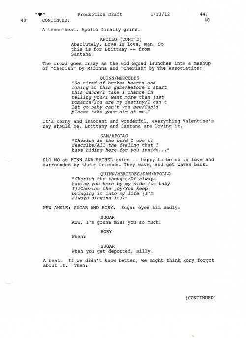 Full Script Scene: 3x12 Heart- প্রণয় Shack 2 of 5