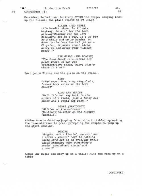 Full Script Scene: 3x12 Heart- প্রণয় Shack 4 of 5