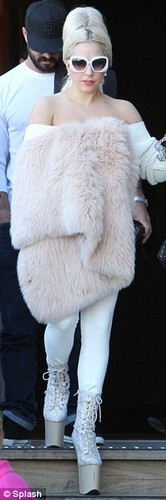 Gaga at Sydney Harbour (June 25)