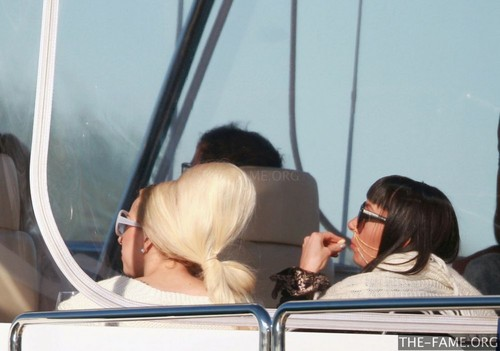 Gaga at Sydney Harbour (June 25) - lady-gaga Photo