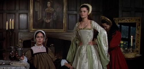 Tudor History wallpaper possibly with a polonaise called Geneviève Bujold as Anne Boleyn