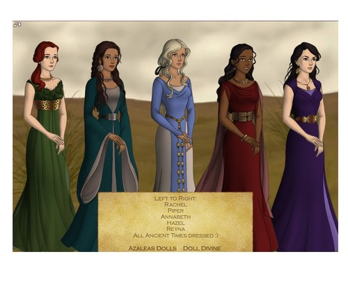 Girls of Heroes of Olympus