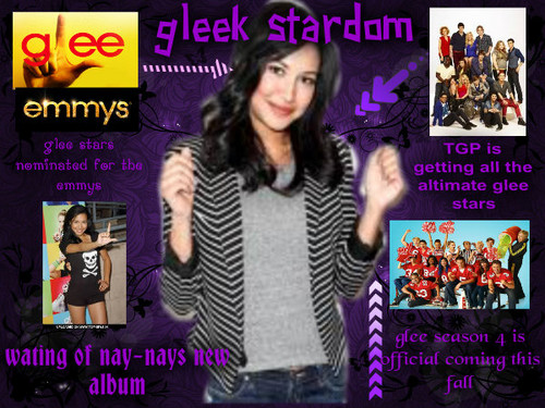 Glee magazine cover - glee Photo