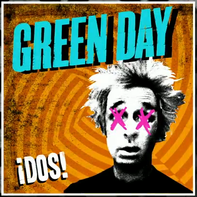 Green Day wallpaper with anime called ¡Dos! Album Cover Artwork