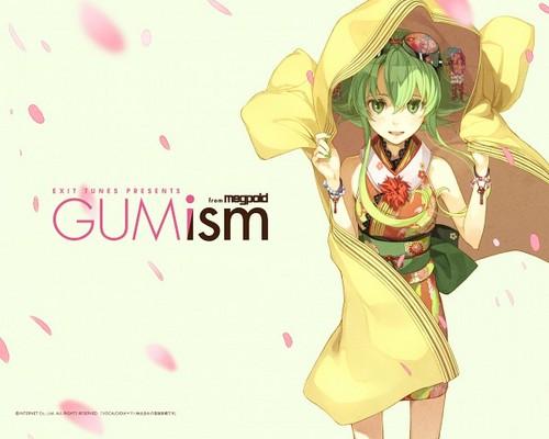 Gumi (Vocaloids) fondo de pantalla entitled Gumi