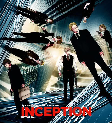hetalia - axis powers MOVIE: Inception