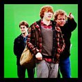 HP and Deathly Hallows BTS Photo - rupert-grint photo