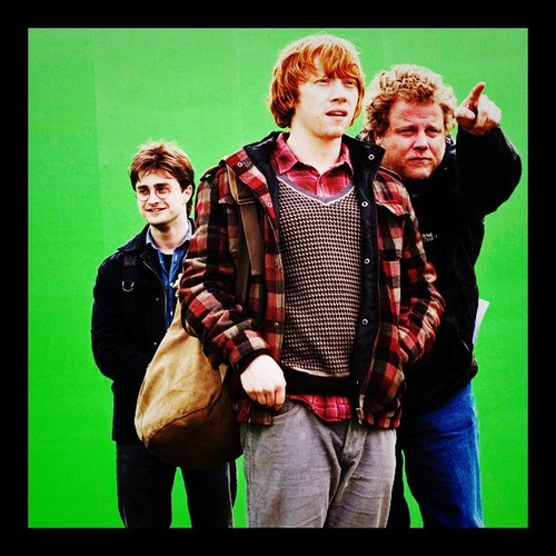 HP and Deathly Hallows BTS litrato