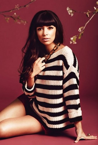 Hannah Simone - Audrey March 2012